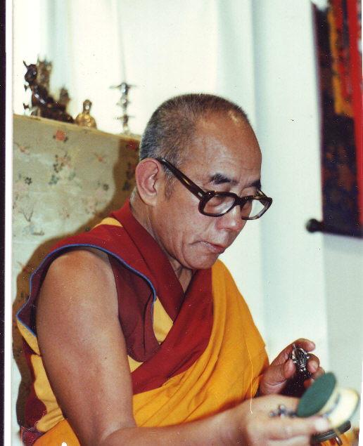 Kyabje Lati Rinpoche