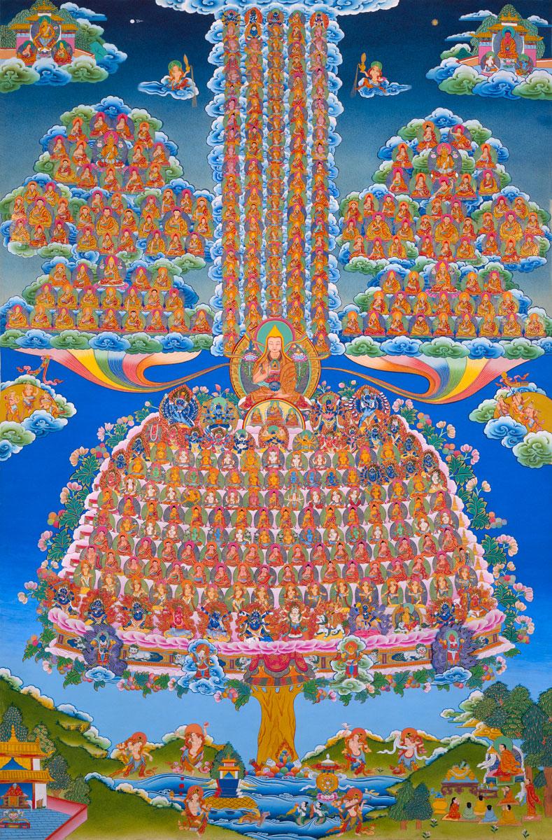 Gelukpa Guru Tree